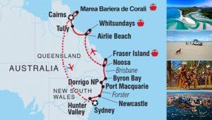 Australia Traseu Coasta de Est